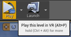 VR Preview Mode