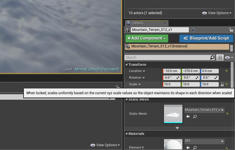 Vue Series of tutorials - UE4 Terrains23d.png