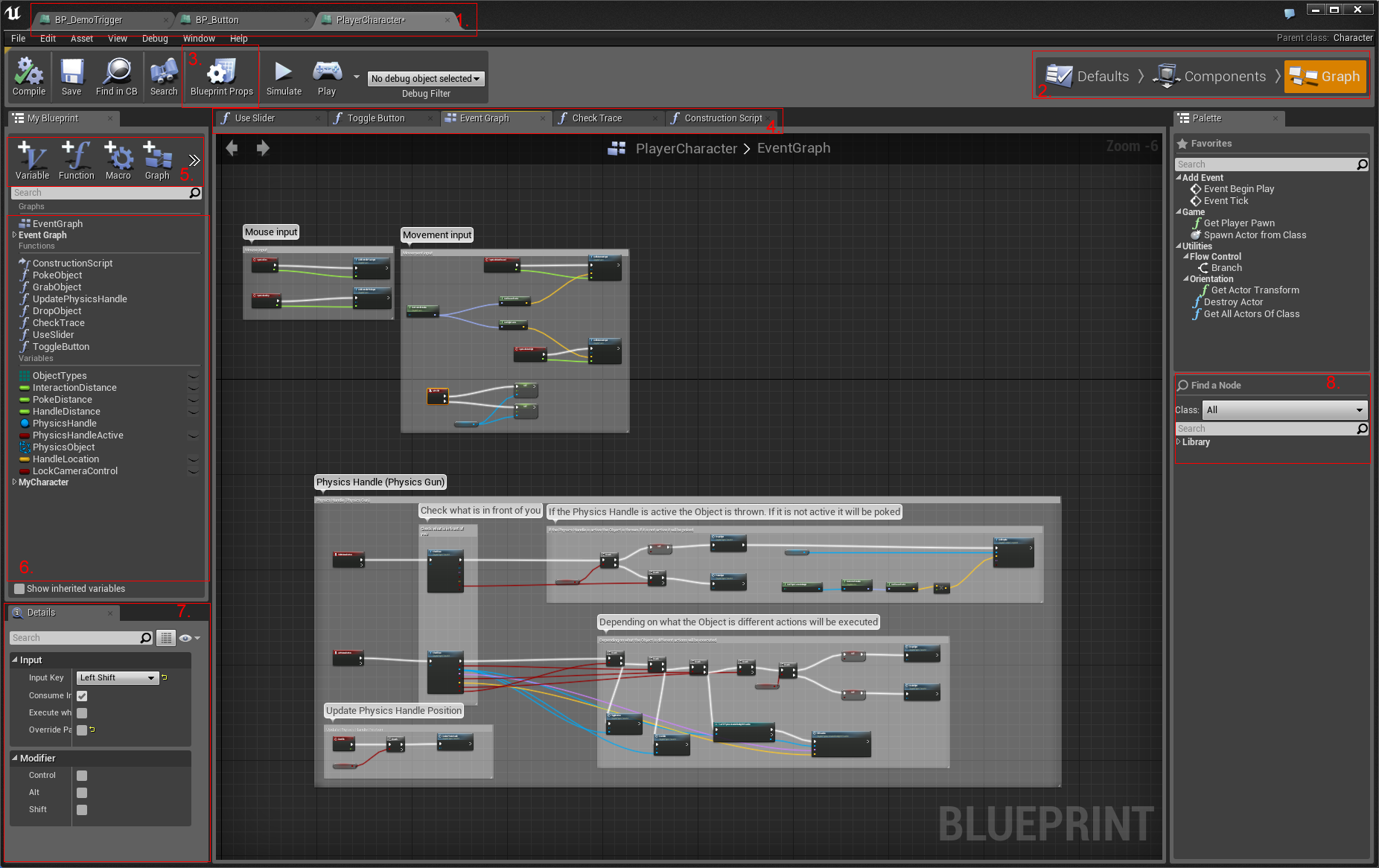 Blueprint fundamentals epic wiki blueprinteditorlayoutg malvernweather Gallery