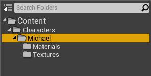 Unreal folder structure
