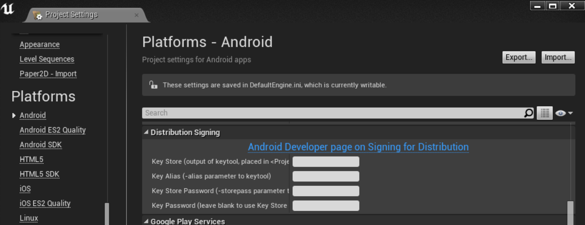 How To Sign UE4 Android Package - Epic Wiki