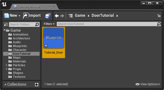 TutorialDoor Blueprint DT.png