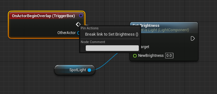 Blueprint spotlight onoff switch tutorial epic wiki spotlight toggle 2g malvernweather Gallery