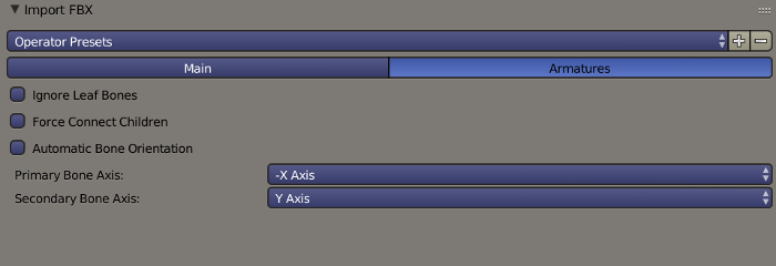 Blender FBX Import Armatures Options.png